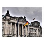 Den Reichstag byggnaden, Berlin Vykort