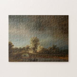 Den Rembrandt stenen överbryggar Pussel