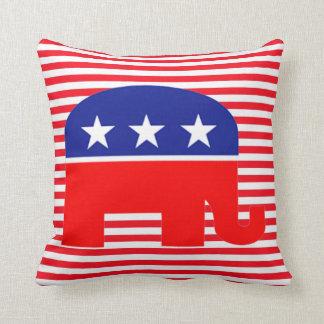 den republikanska elefanten kudder kudde