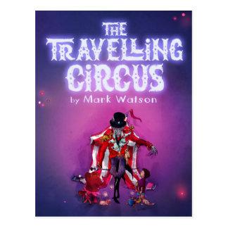 Den resande cirkusen vykort