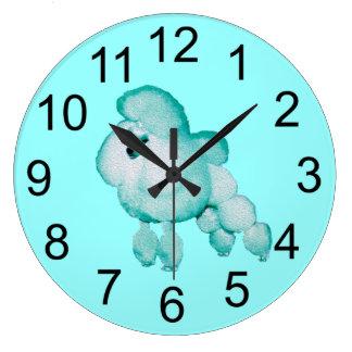 Den Retro Aquapudelväggen tar tid på Stor Klocka