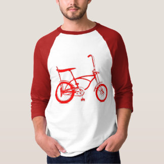 Den Retro bananen placerar cykeln Tshirts