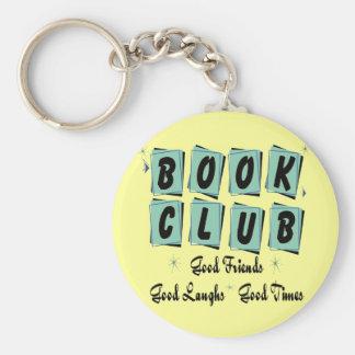 Den Retro bokklubben - bra vänner, tajmar och skra Rund Nyckelring