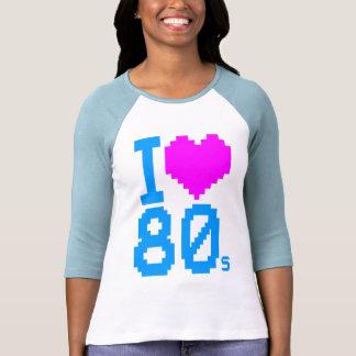 Den Retro Corey tiger80-tal älskar jag 80-talskjor Tee Shirt