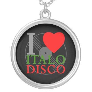 Den Retro Corey tiger80-tal älskar jag det Italo d Anpassningsbara Smycken