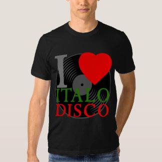 Den Retro Corey tiger80-tal älskar jag det Italo Tee Shirts