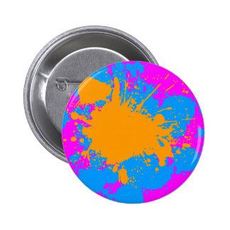 Den Retro Corey tiger80-tal målar splatteren (mult Knappar Med Nål