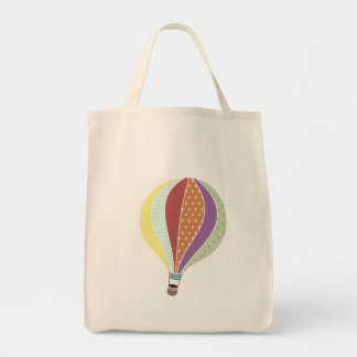 Den Retro inspirerade luftballongen hänger lös Mat Tygkasse