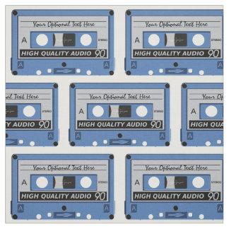 Den Retro kassetten tejpar beställnings- tyg