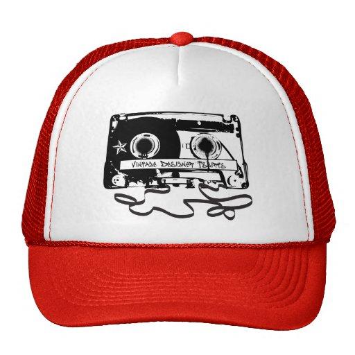 Den Retro kassetten tejpar från 80-tal Keps