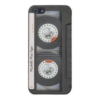 Den Retro personligkassetten Blandning-Tejpar iPhone 5 Skal