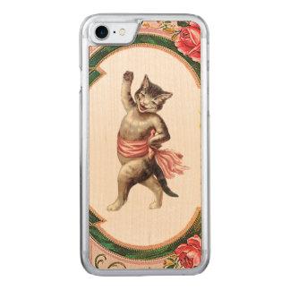 DEN RETRO REBELLISKA kattungekabaretiPhonen 5/5S Carved iPhone 7 Skal