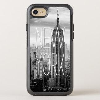 Den Retro svart vitNew York skyscraper landskap OtterBox Symmetry iPhone 7 Skal