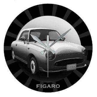 Den Retro väggen för rundan för den Figaro Stor Klocka