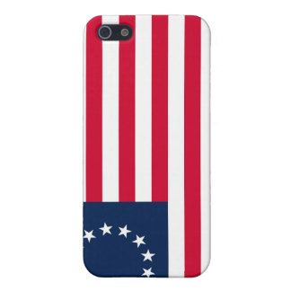 Den revolutionära krigBetsy Ross flagga iPhone 5 Cases