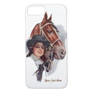 Den rid- kvinnan och Hästen skräddarsy