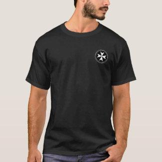 Den riddareHospitaller rundan förseglar skjortan Tshirts