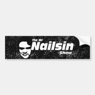 Den rikliga etiketten för Herr Nailsin Show Bildekal