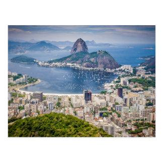 Den Rio de Janeiro antennen beskådar Vykort