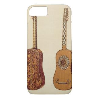 """Den Rizzio gitarren, från """"musikal instrumenterar"""""""
