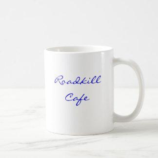 Den Roadkill cafen, dödar du den, oss grillar den! Kaffemugg
