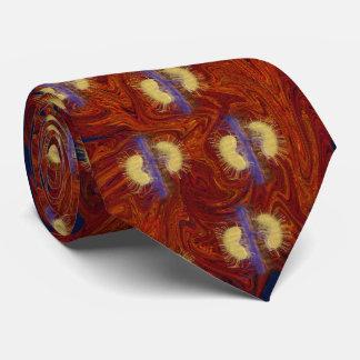 Den röda fantastiska njure slips