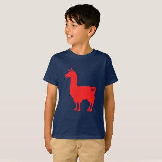Den röda llamaen lurar T-tröja Tröja