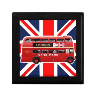 Den röda London bussen Smyckeskrin