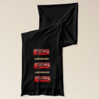 Den röda London dubbla däckarebussen Sjal