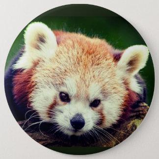 Den röda pandaen knäppas jumbo knapp rund 15.2 cm