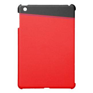 Den röda skjortan I-Vadderar fodral iPad Mini Skal