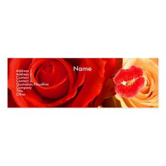 Den röda sminkkonstnären gul ros profilerar ja