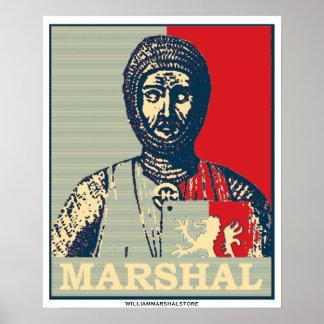 Den röda William marskalkspegeln av chivalryen & b Poster
