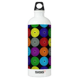 Den roliga färgrika mång- färgaden cirklar Disks