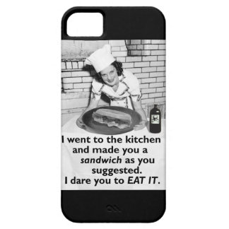 Den roliga feministen gör mig en smörgås iPhone 5 hud