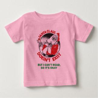 Den roliga jultomten lurar skjortan - Santa finns T-shirts