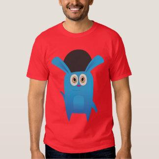 Den roliga kaninen (kicken avslutar), t-shirts