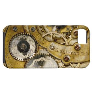 Den roliga mekaniska klockan utrustar tough iPhone 5 fodral