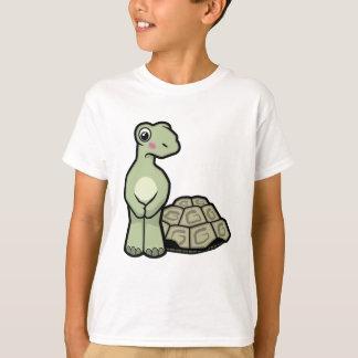 Den roliga Snäcka-mindresköldpaddan lurar T-tröja T Shirt