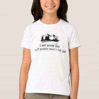 den roliga t-skjortan gick för diagramgameren för tee