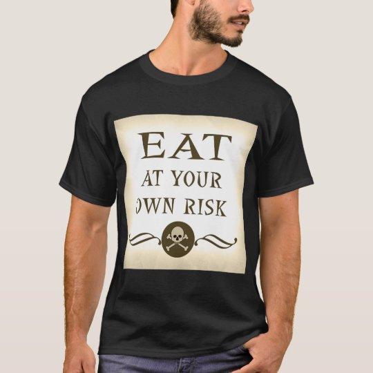 Den roliga zombien Halloween äter på ditt eget Tröjor