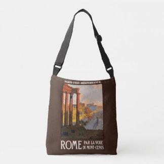 Den Rome italienvintage resor hänger lös Axelväska