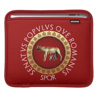 Den romerska Capitoline Hon-Vargen Sleeve För iPads