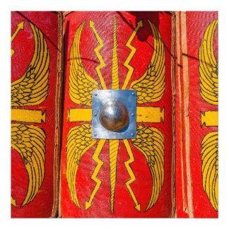 Den romerska militären skyddar - Scutum Fototryck