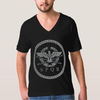 Den romerska väldeEmblemV-nacke T-Shirt.en Tröja