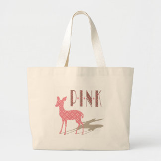 Den rosa Bambi designen hänger lös Jumbo Tygkasse