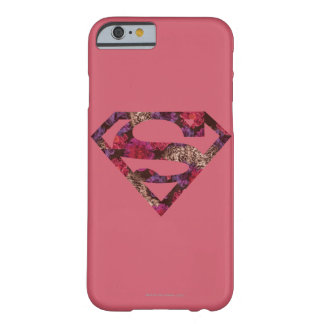 Den rosa blommigten S-Skyddar Barely There iPhone 6 Fodral