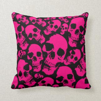 Den rosa döskallar kudder kudde