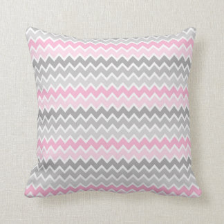 Den rosa grå färggråttOmbre sparren kudder Kudde
