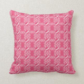 Den rosa högklackar kudder kudde